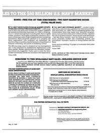 Maritime Reporter Magazine, page 23,  May 15, 1985 Department of Defense