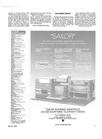 Maritime Reporter Magazine, page 25,  May 15, 1985 Rhode Island