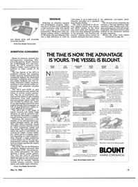Maritime Reporter Magazine, page 29,  May 15, 1985 Spirit