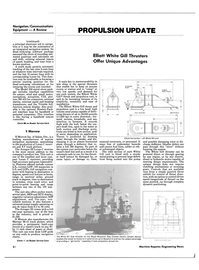 Maritime Reporter Magazine, page 32,  May 15, 1985 dead-reckoning software package