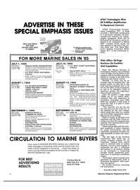 Maritime Reporter Magazine, page 36,  May 15, 1985 North Carolina