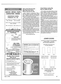Maritime Reporter Magazine, page 39,  May 15, 1985 Maryland