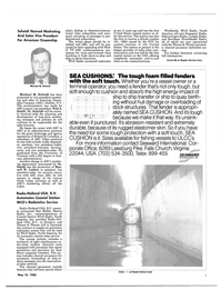 Maritime Reporter Magazine, page 3,  May 15, 1985 Vermont