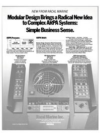 Maritime Reporter Magazine, page 4th Cover,  May 15, 1985