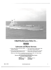 Maritime Reporter Magazine, page 5,  May 15, 1985 Services Available Worldwide
