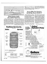 Maritime Reporter Magazine, page 99,  Jun 1985