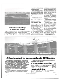 Maritime Reporter Magazine, page 101,  Jun 1985