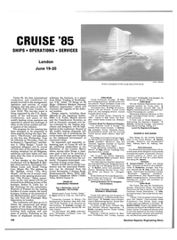 Maritime Reporter Magazine, page 102,  Jun 1985