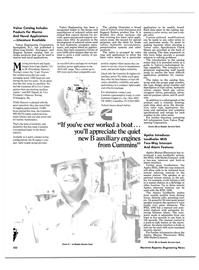 Maritime Reporter Magazine, page 104,  Jun 1985