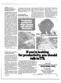 Maritime Reporter Magazine, page 107,  Jun 1985
