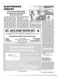 Maritime Reporter Magazine, page 120,  Jun 1985