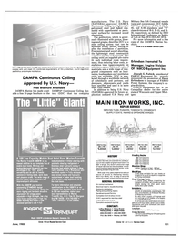 Maritime Reporter Magazine, page 123,  Jun 1985