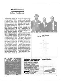 Maritime Reporter Magazine, page 19,  Jun 1985