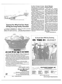 Maritime Reporter Magazine, page 20,  Jun 1985