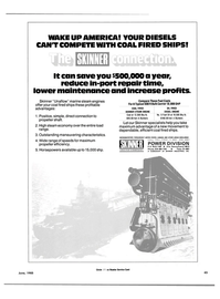 Maritime Reporter Magazine, page 47,  Jun 1985