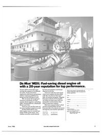Maritime Reporter Magazine, page 3,  Jun 1985