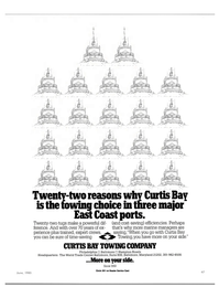 Maritime Reporter Magazine, page 49,  Jun 1985
