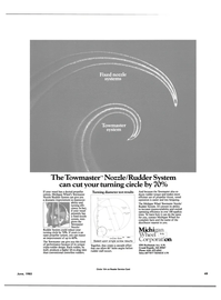 Maritime Reporter Magazine, page 51,  Jun 1985