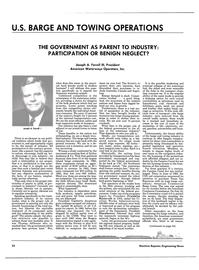 Maritime Reporter Magazine, page 54,  Jun 1985