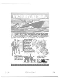 Maritime Reporter Magazine, page 63,  Jun 1985
