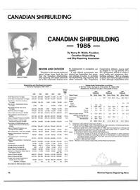 Maritime Reporter Magazine, page 78,  Jun 1985
