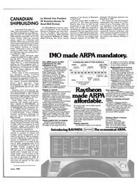 Maritime Reporter Magazine, page 81,  Jun 1985