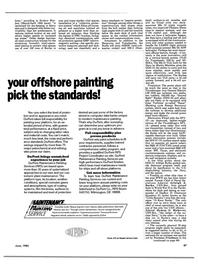 Maritime Reporter Magazine, page 89,  Jun 1985