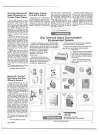 Maritime Reporter Magazine, page 91,  Jun 1985