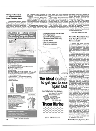 Maritime Reporter Magazine, page 92,  Jun 1985