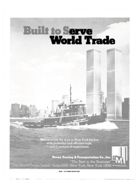 Maritime Reporter Magazine, page 9,  Aug 1985 World Trade Center