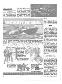 Maritime Reporter Magazine, page 18,  Aug 1985 Walter Berg