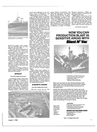 Maritime Reporter Magazine, page 21,  Aug 1985