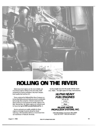Maritime Reporter Magazine, page 25,  Aug 1985 WATER PROPULSION SYSTEMS INC.
