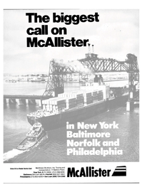 Maritime Reporter Magazine, page 1,  Aug 1985 New York