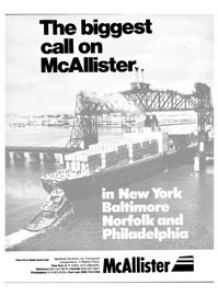 Maritime Reporter Magazine, page 1,  Aug 1985 New York