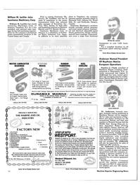 Maritime Reporter Magazine, page 28,  Aug 1985 Washington