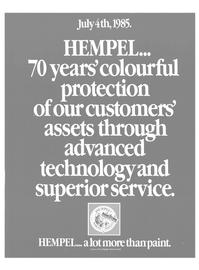 Maritime Reporter Magazine, page 29,  Aug 1985