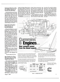 Maritime Reporter Magazine, page 37,  Aug 1985