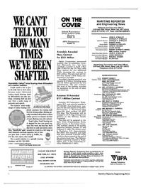 Maritime Reporter Magazine, page 2,  Aug 1985 Connecticut