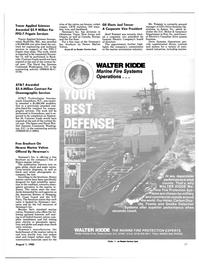 Maritime Reporter Magazine, page 39,  Aug 1985 Oregon
