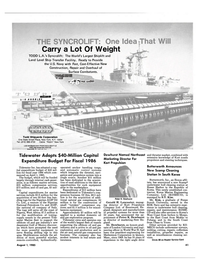 Maritime Reporter Magazine, page 43,  Aug 1985 Gulf of Mexico