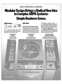 Maritime Reporter Magazine, page 4th Cover,  Aug 1985 Complex ARRft Systems