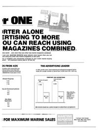 Maritime Reporter Magazine, page 5,  Aug 1985 media buyers