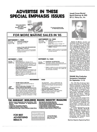 Maritime Reporter Magazine, page 6,  Aug 1985