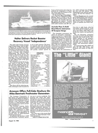 Maritime Reporter Magazine, page 9,  Aug 15, 1985 New Jersey