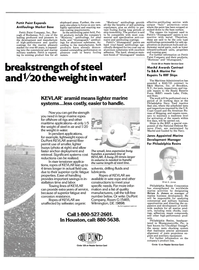Maritime Reporter Magazine, page 13,  Aug 15, 1985 Delaware
