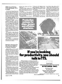 Maritime Reporter Magazine, page 27,  Aug 15, 1985 Richard Kriefeldt