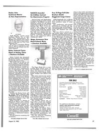 Maritime Reporter Magazine, page 35,  Aug 15, 1985 Ontario