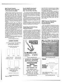 Maritime Reporter Magazine, page 41,  Aug 15, 1985 Pennsylvania