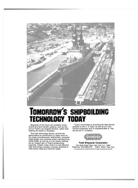 Maritime Reporter Magazine, page 3rd Cover,  Aug 15, 1985 United States Navy